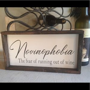 Painted wood sign, hand made in Tennessee